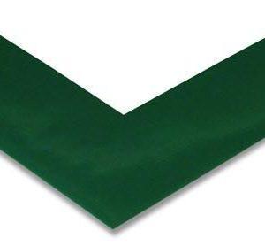 Angle marquage sol adhésif vert